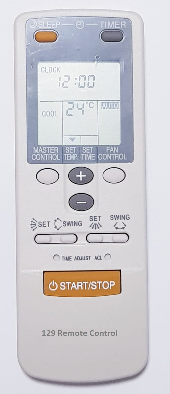 High Quality New Fujitsu AirCon Remote Control for AR-DB6