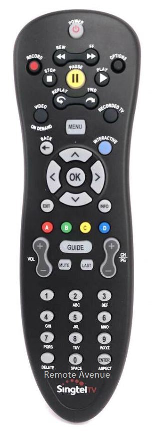 Brand New Original Singtel Mio TV Remote Control
