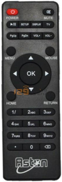 Aston Tv Box Remote Control