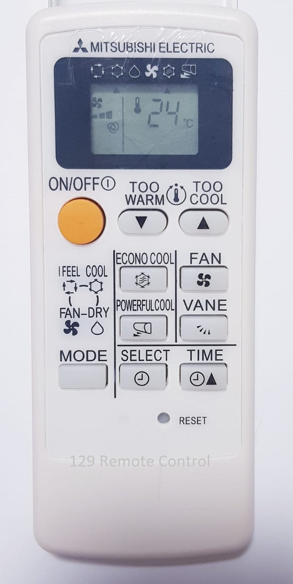 New High Quality Mitsubishi Electric AirCon Remote Control for MP04B