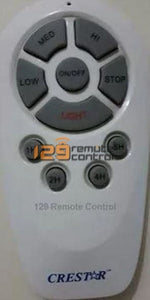 Brand New High Quality Ceiling Fan Remote Control With Receiver Set Substitute For Crestar V9.