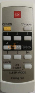 Brand New Original & Substitute Kdk Remote Control For K14Y2 Option 1) With Batteries.