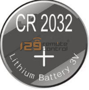 Change New Remote Control Batteries Cr2032
