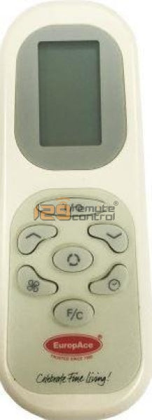 Europace Aircon Remote Control - (Photo For Sample Only)