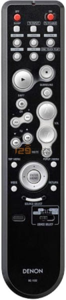 Genuine New Original Denon Remote Control Rc-1122