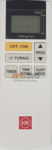 Genuine New Original Kdk Fan Remote Control For K15Yx