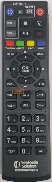 Genuine New Original Media Solution Digital Box Remote Control