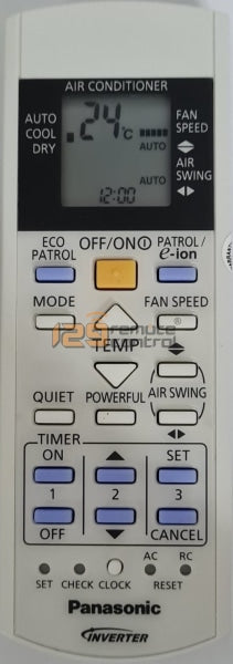 Genuine New Original Panasonic Aircon Remote Control A75C3606