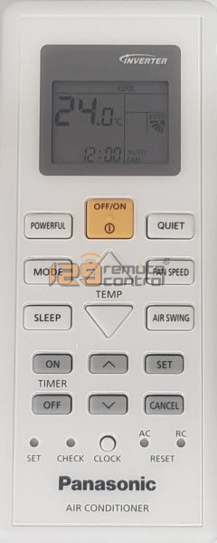 Genuine New Original Panasonic Aircon Remote Control For 10880