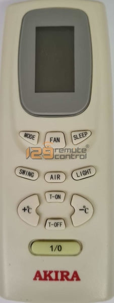 Genuine Used Original Akira Aircon Remote Control