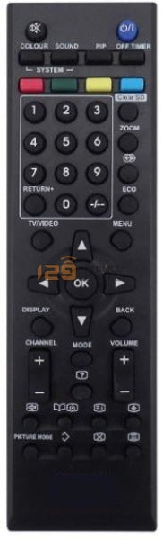 Jvc Lcd Tv Remote Control Replacement