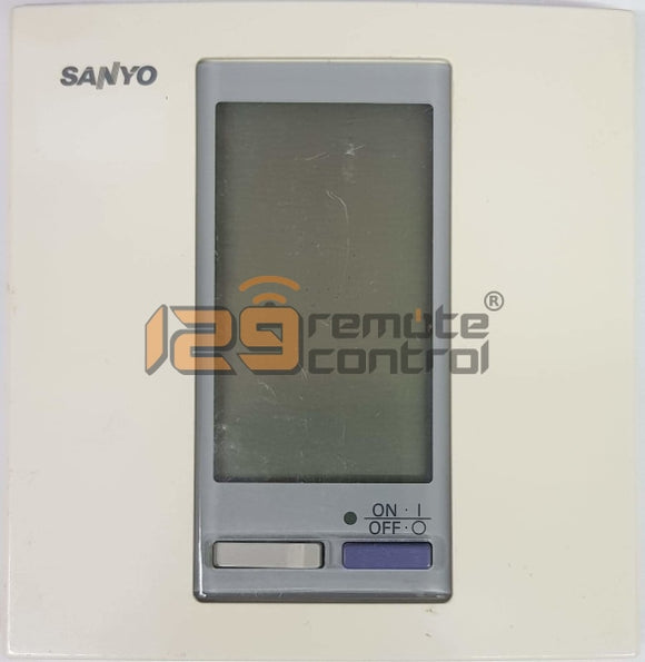(Local Shop) Genuine Used Original Sanyo Aircon Remote Control Rcs-Sh80Tg
