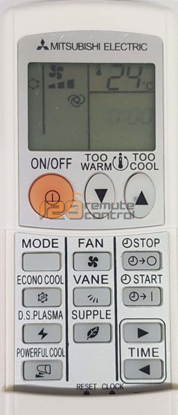 (Local Shop) New High Quality Mitsubishi Electric Aircon Remote Control