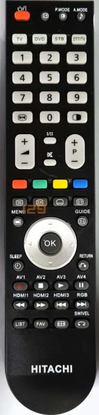 New High Quality Hitachi Tv Remote Control