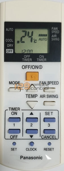 New High Quality Panasonic Aircon Remote Control - Substitute
