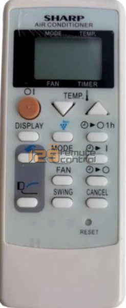 New High Quality Sharp Aircon Remote Control - Substitute