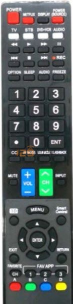 New High Quality Sharp Smart Tv Remote Control - Substitute