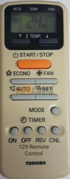 New High Quality Toshiba Aircon Remote Control - Substitute