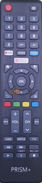 New Original Prism Smart Tv Remote Control (Netflix Function) Sample Photo.