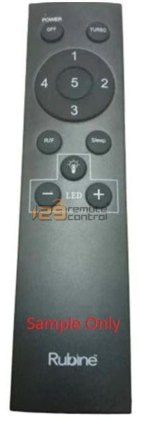 New Substitute Rubine Ceiling Fan Remote Control Replace For V1