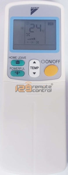 Standard Quality Daikin Aircon Remote Control For Arc433 - New Substitute