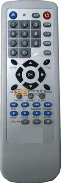 Universal Dvd Remote Control Replacement