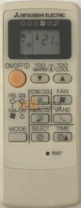 Used Original Mitsubishi Electric Aircon Remote Control For Mp04B