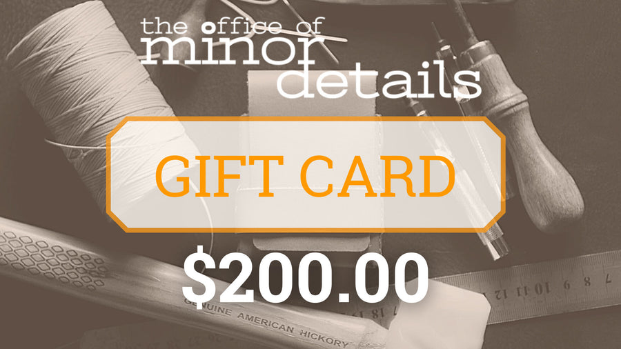 Gift:Card - The Office of Minor Details