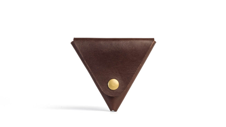 Home:Slice Coin Case | Brown - The Office of Minor Details