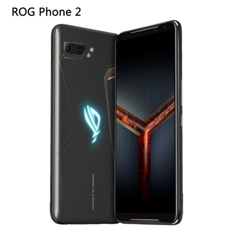 "Global ROM ASUS ROG Phone 2 mobile phone 6.59"" 8G 128G/512G Snapdragon 855 Plus 2.96Ghz 48MP Android 9 6000mAh NFC gaming phone"