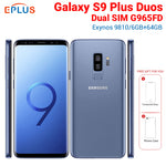 "Brand New Original Global Samsung Galaxy S9 Plus S9+ Duos G965FD Dual SIM Mobile Phone 6.2"" 6GB 64GB 12MP 4G LTE NFC SmartPhone"