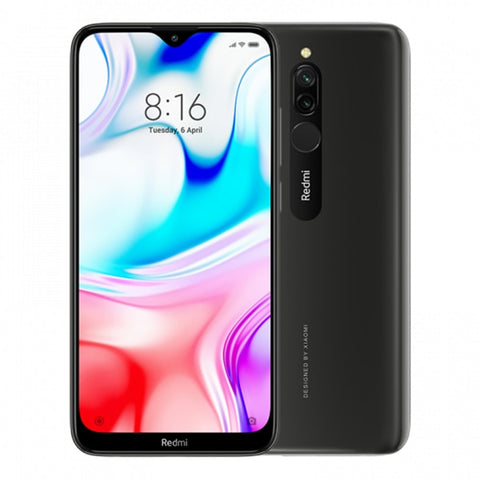 "Original Global Version Xiaomi Redmi 8 3GB RAM 32GB ROM 6.21"" Mobile Phone Snapdragon 439 Octa Core Dual Camera 5000mAh Phone"