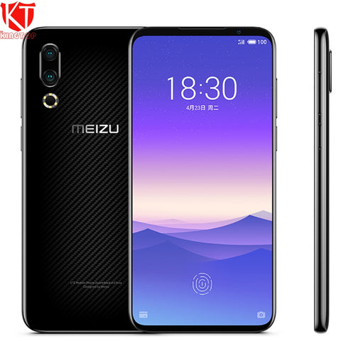 "Global ROM Original Meizu 16s Mobile Phone 6.2"" 8G 256G Snapdragon 855 48MP+20MP Camera In-Screen Fingerprint NFC Smart phone"