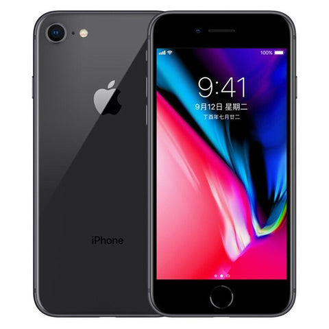 "Apple iPhone 8 A11 Bionic 4.7"" 2GB RAM 64GB/256GB Hexa-core IOS 3D Touch ID 12.0MP Fingerprint 4G LTE Unlocked Mobile Phone"