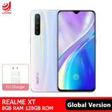 Realme XT Global Version 8GB 128GB NFC Mobile Phone Snapdragon 712 AIE Octa-core 64MP Quad Camera 4000mAh Fast Charge Smartphone