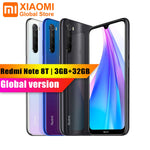 Global Version Xiaomi Redmi Note 8T 3GB 32GB 6.3 NFC Smartphone Quick Charge 18W with 48MP Camera Snapdragon 665 4000mAh Mobile