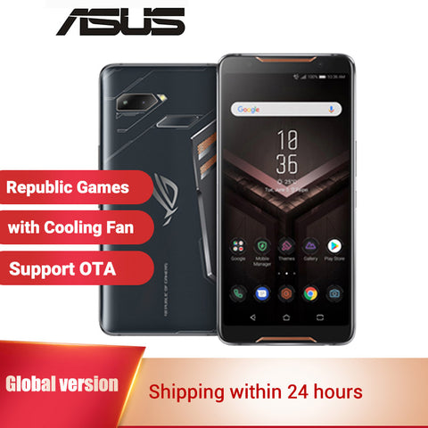 "International Asus ROG Phone ZS600KL Gaming Smartphone 512GB 128GB ROM 8GB RAM 6"" Snapdragon 845 Octa core Game Mobile Phone"