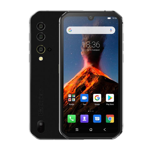 Android Octa Core Smartphone Blackview BV9900 8GB+256GB Mobile Phone NFC Helio P90  IP68 Rugged 48MP Quad Rear Camera