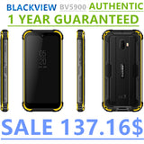 Blackview BV5900 Mobile Phone 3GB+32GB 5.7inch Screen 5580mAh Android MTK6761 Cell Phones
