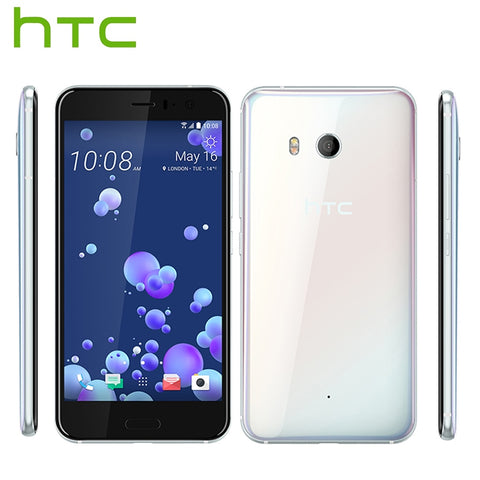 "Brand New HTC U11 LTE Mobile Phone Snapdragon 835 Octa Core IP67 Waterproof 6GB RAM 128GB ROM 5.5"" 2560x1440p Dual SIM Callphone"