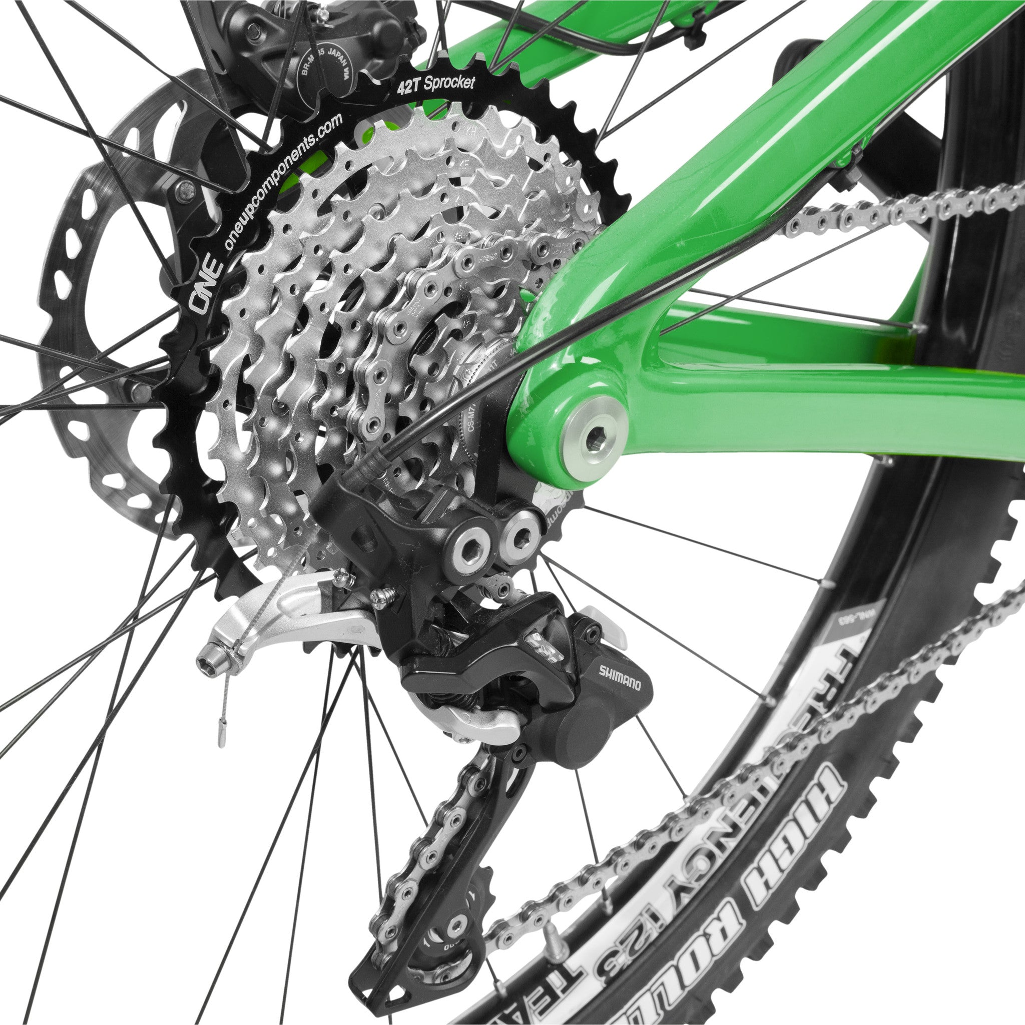 First Bicycle 42T Cassette Sprocket 10 Speed for Shimano Sram with 16T cog MTB