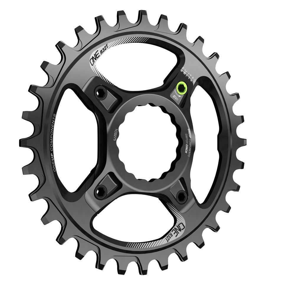 28T OneUp Components Switch oval chainring black
