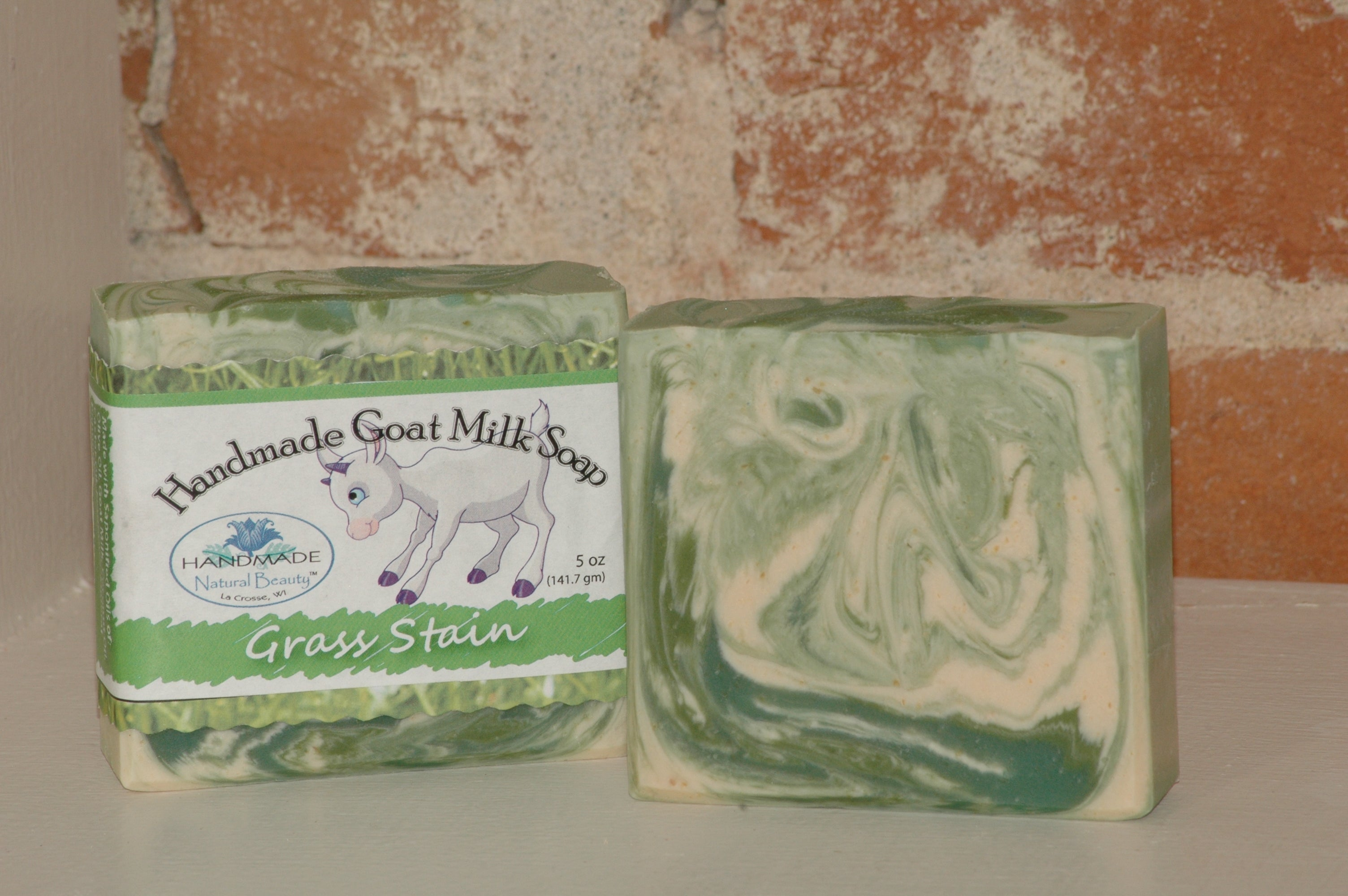 Goat Milk Soap | Grass Stain