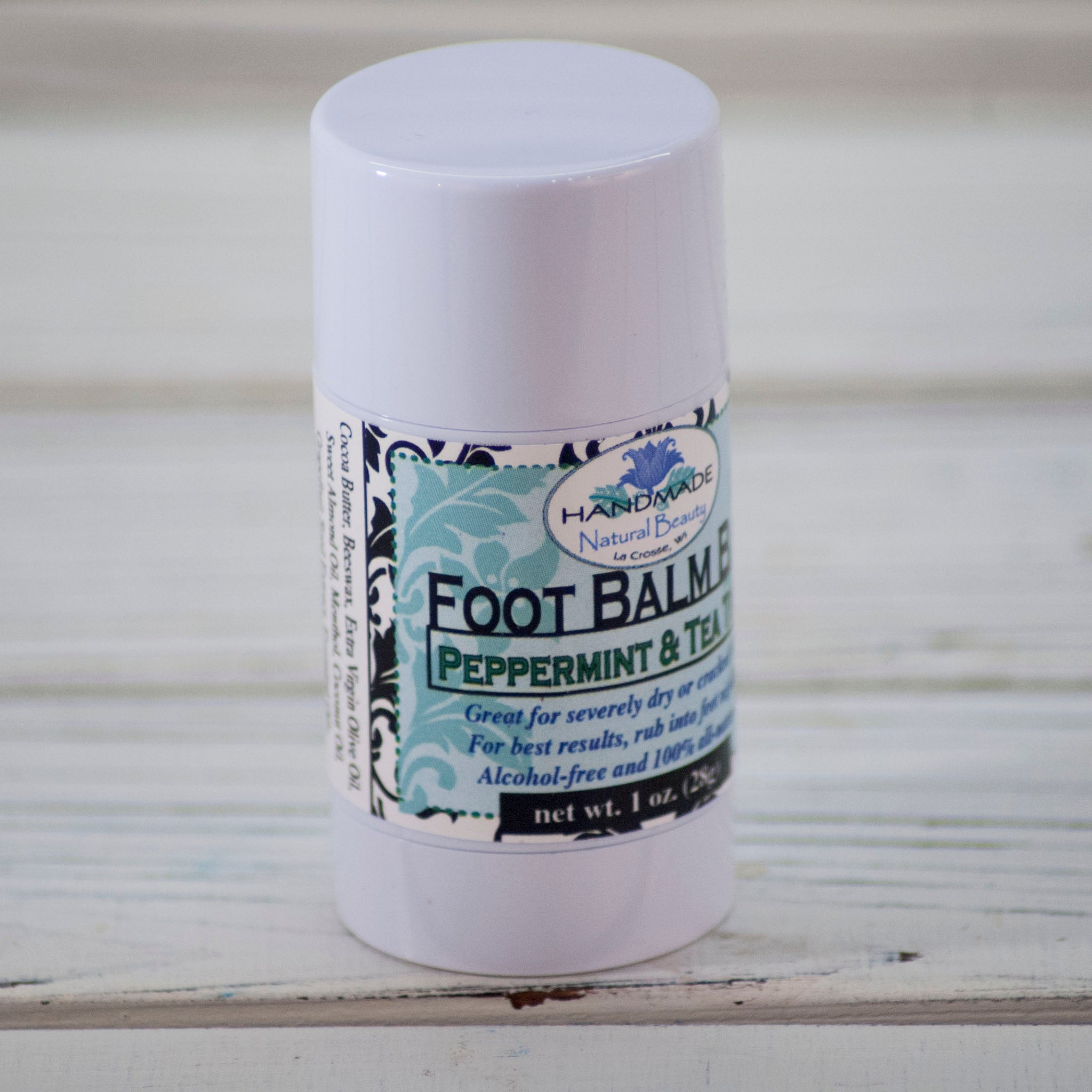 Natural Foot Care | Peppermint & Tea Tree Foot Balm Bars