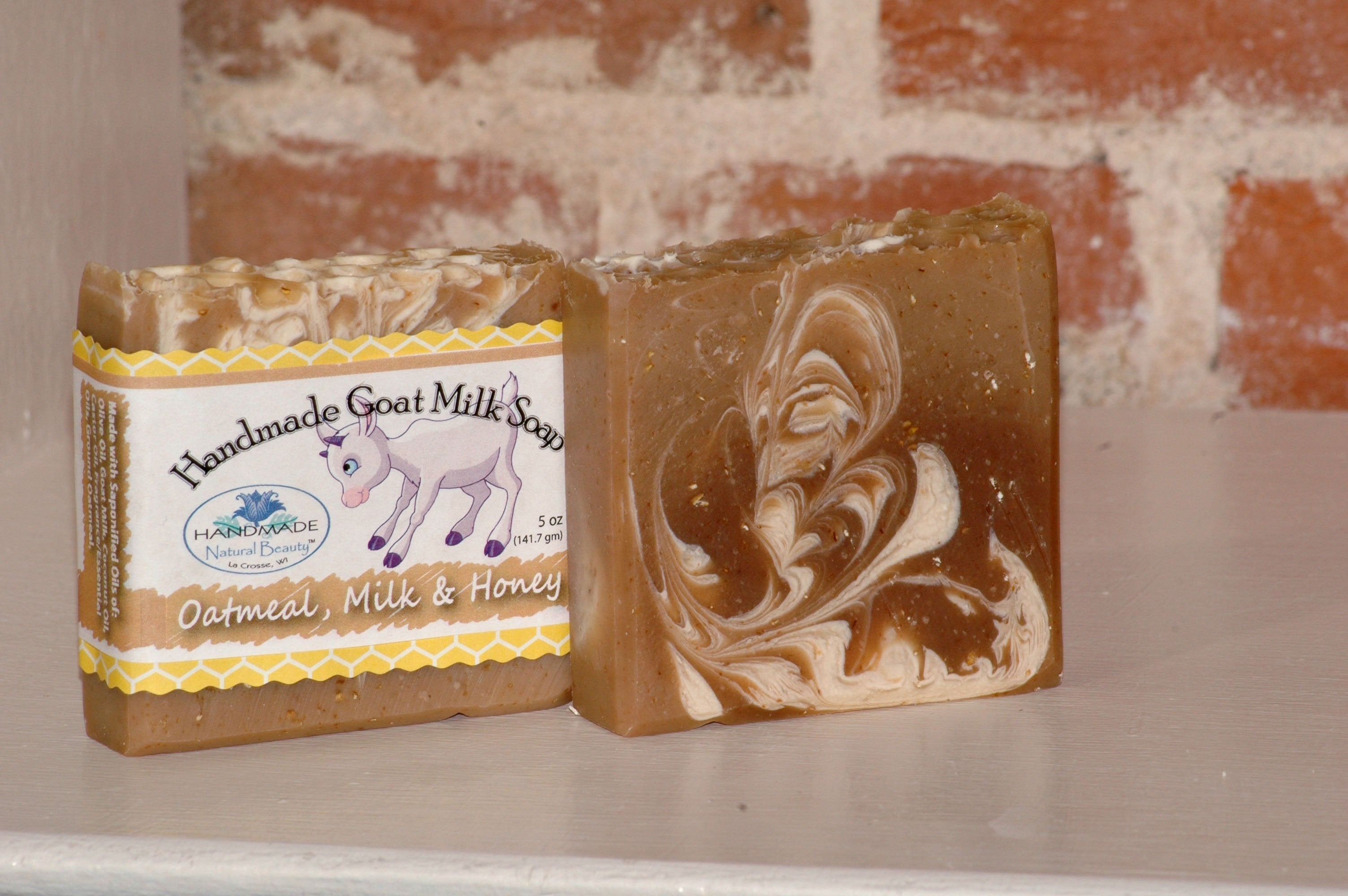Goat Milk Soap | Oatmeal Milk & Honey