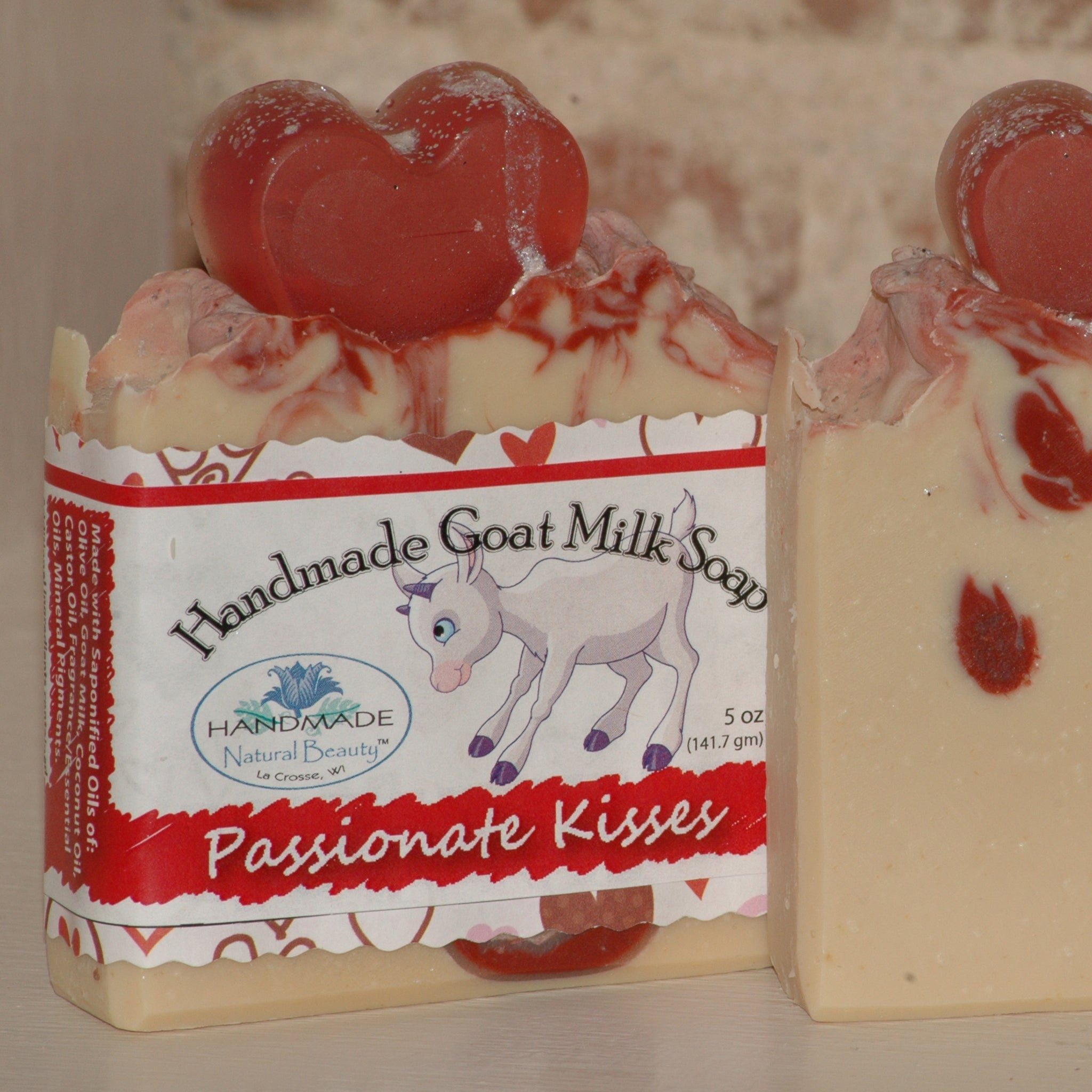 Goat Milk Soap | Passionate Kisses