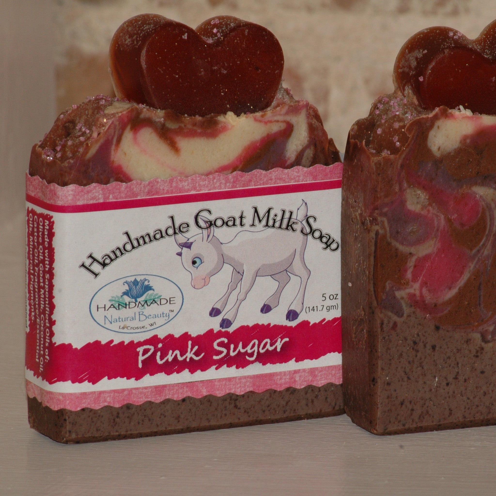 Goat Milk Soap | Pink Sugar