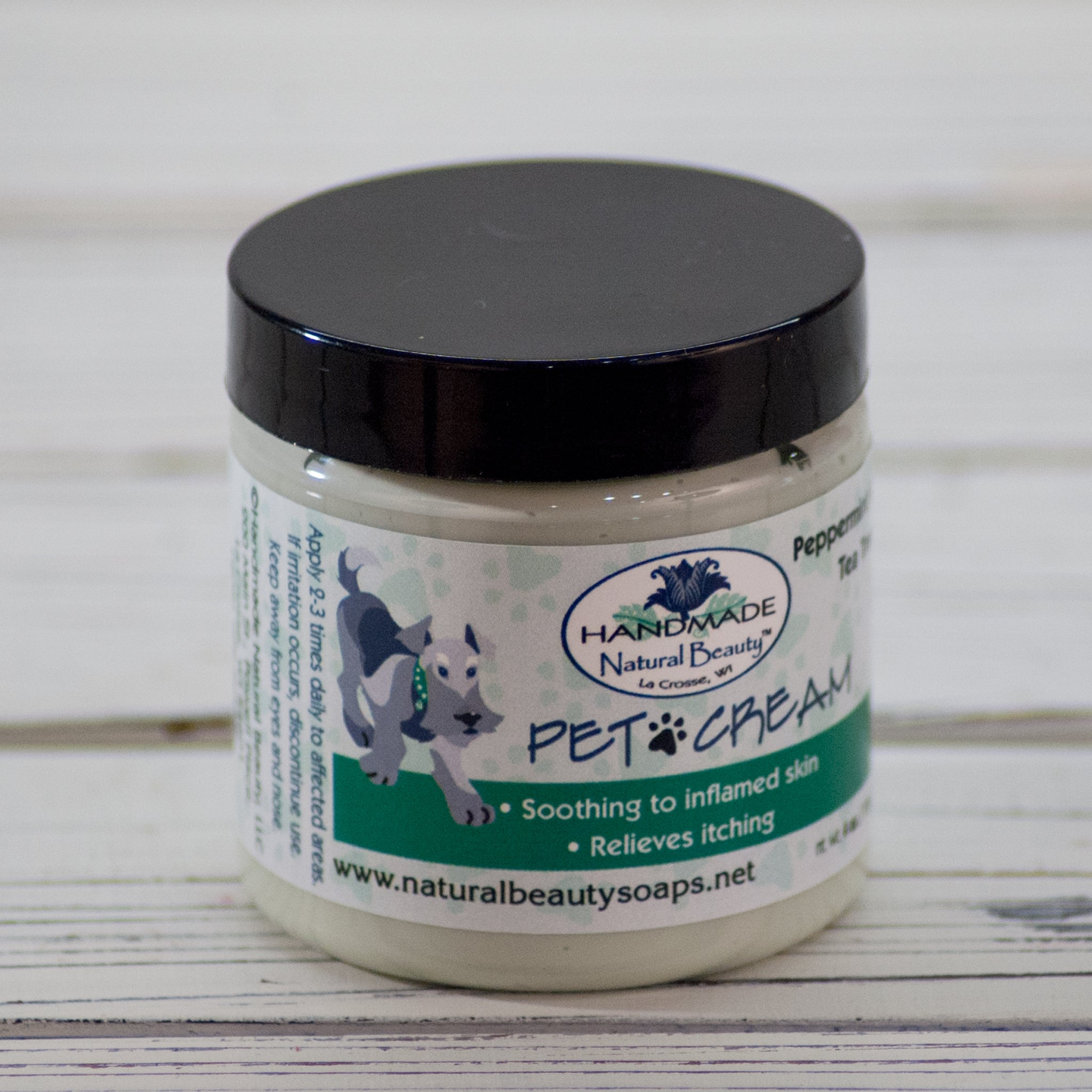 Natural Pet Care | Peppermint Pet Cream
