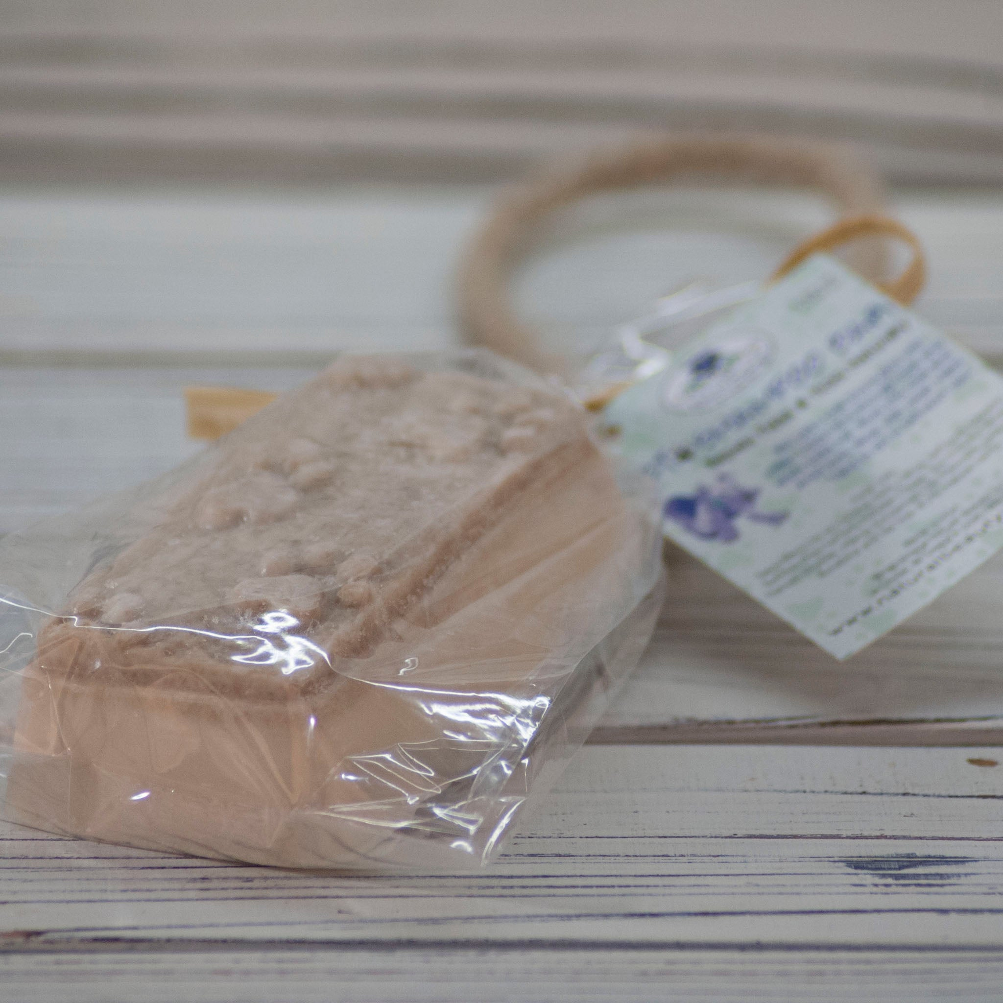 Natural Pet Care | Paw Print Shampoo Bar Soap on a Rope