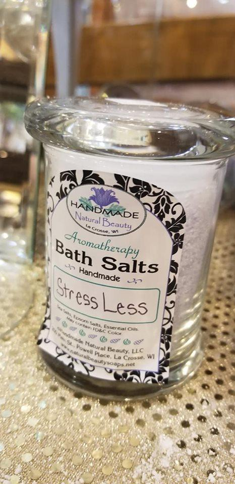Aromatherapy Bath Salts / Soaking Salts